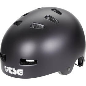 TSG Evolution Solid Color Helmet Kids satin black